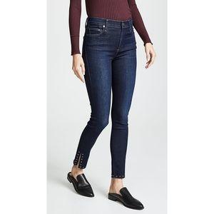 Citizen of Humanity Rocket Ankle Split Hem Jeans